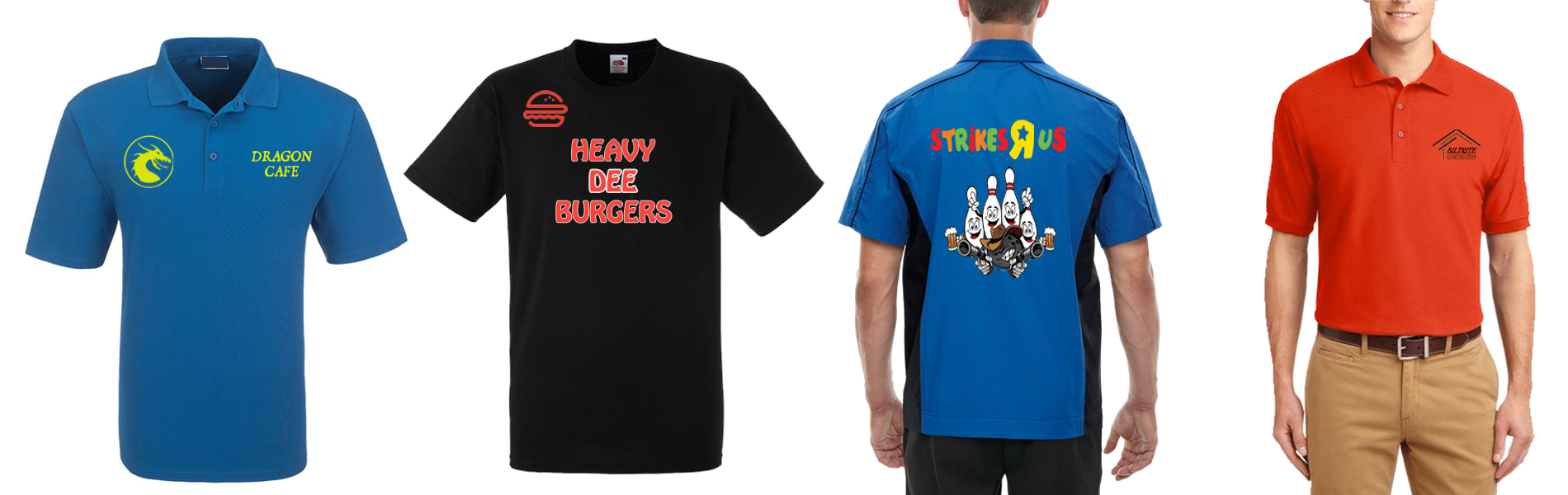 Custom Workwear, Bowling Shirts, Logo